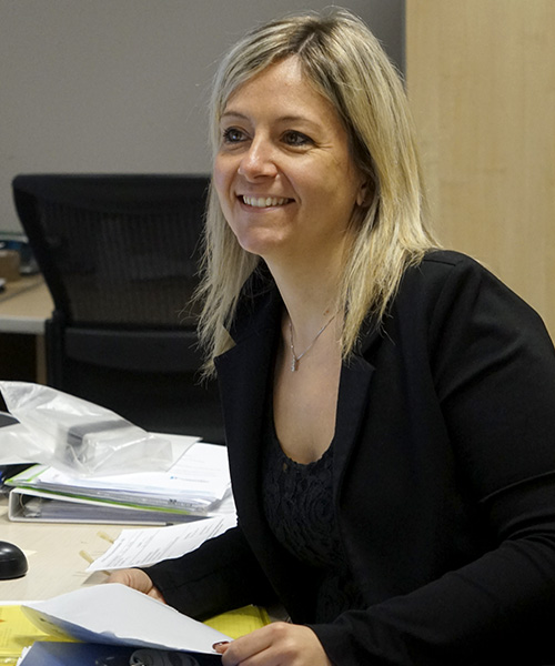 Erika Pizzuto - Responsabile amministrativo - Tecnomont Service General Contractor