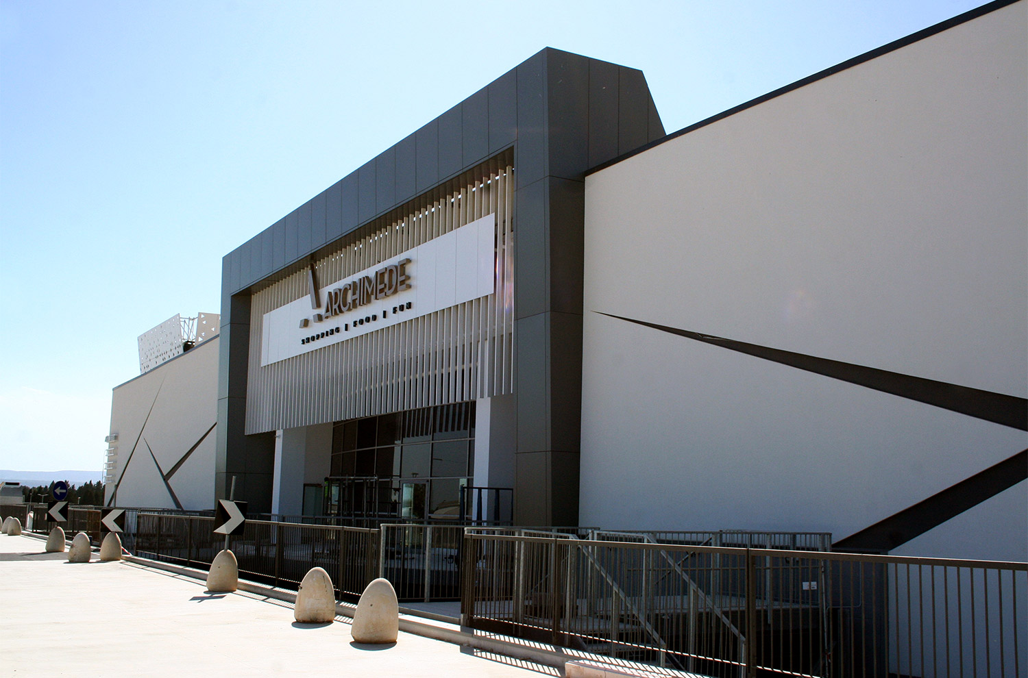 Centro Commerciale Archimede - Siracusa - Tecnomont Service - General contractor